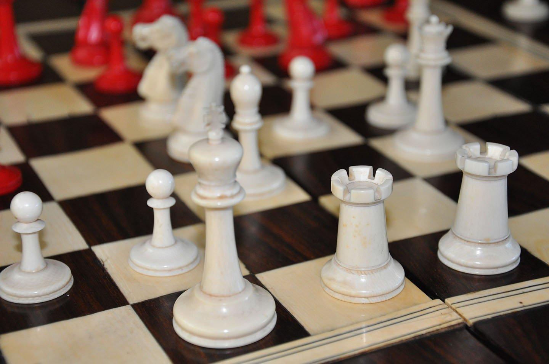 Ivory Staunton Chessmen