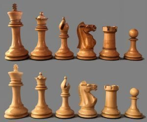 Reproduction Ayres Staunton Chessmen