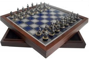 Figural Chess Sets, Franklin and Danbury Mint
