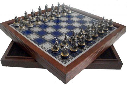 Civil War Chess Set by The Franklin Mint