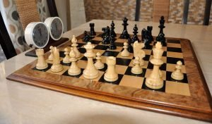 William Pinney Antique Chess Set