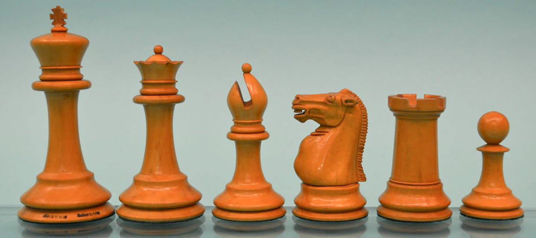 Jaques Steinitz Chessmen, Small Club Size