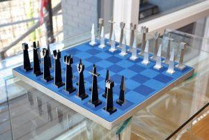 ALCOA Modern Chess Set