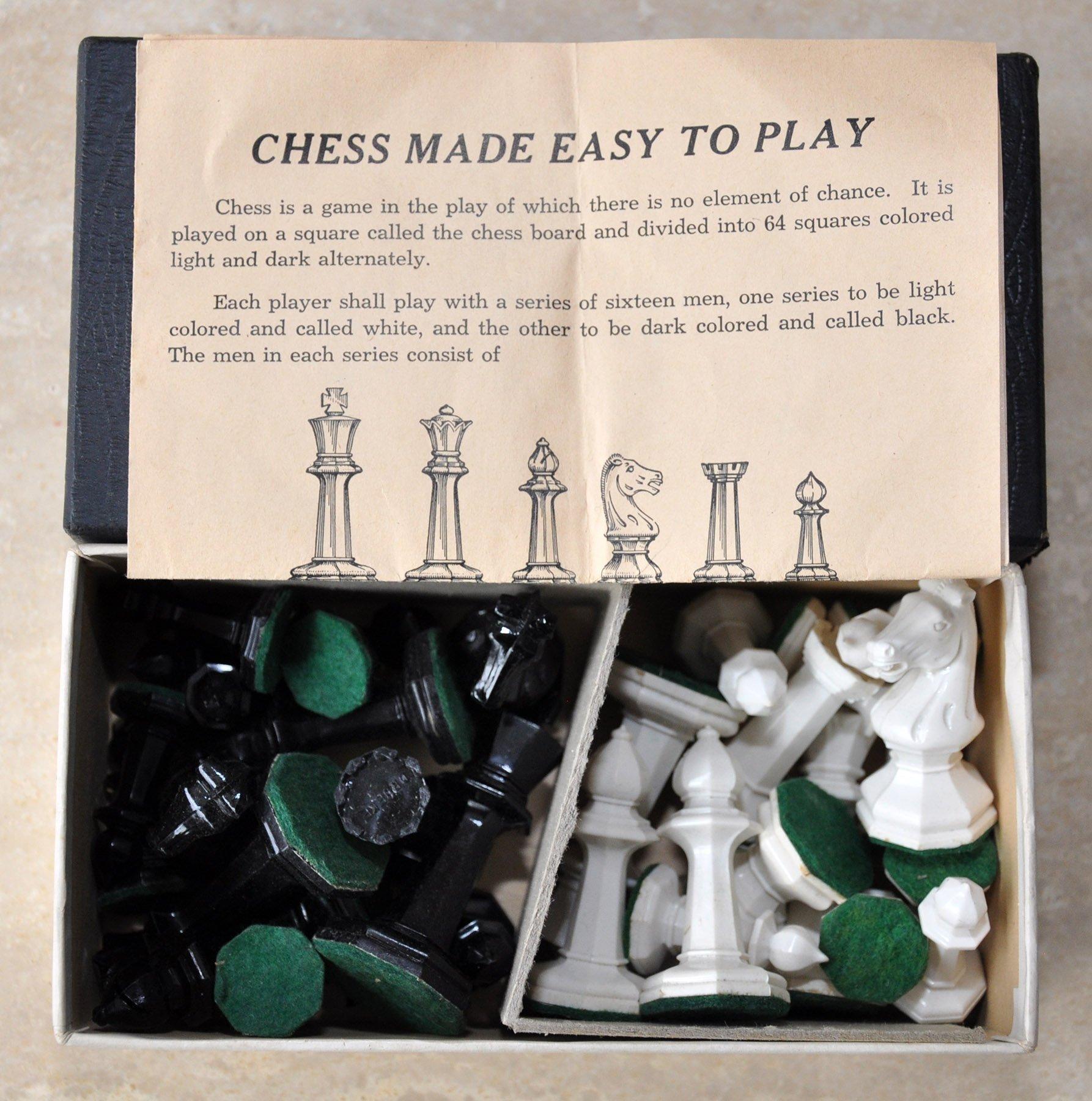 Drueke Black Octagonal Chessmen, No. 23