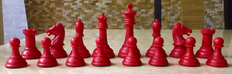 Drueke Players Choice Red Chessmen