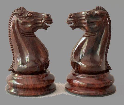 Nathaniel Cooke 1849 Staunton Chessmen