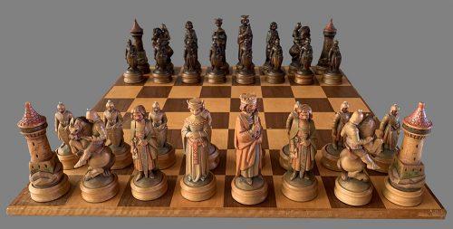 Anri King Arthur Chess Set