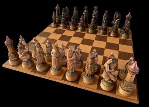 Anri King Arthur Chess Set