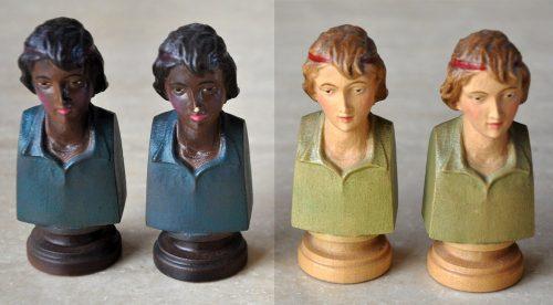 Colphi Figural Chessmen, Bishops