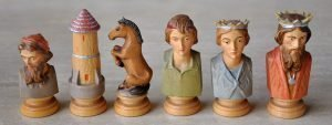 Dolphi Farmers Bust Chess Pieces
