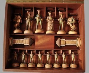 Anri Far West Chess Set