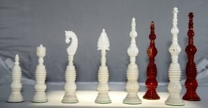 Samuel Pepys Reproduction Chessmen