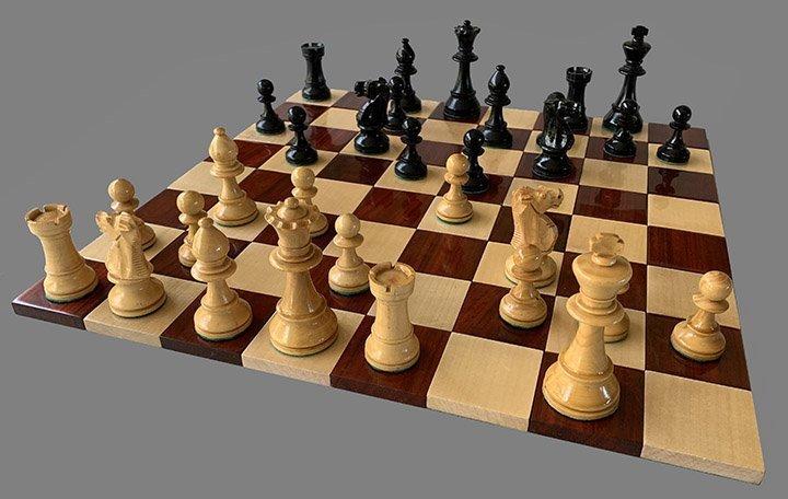 French Lardy Tournament Chessmen