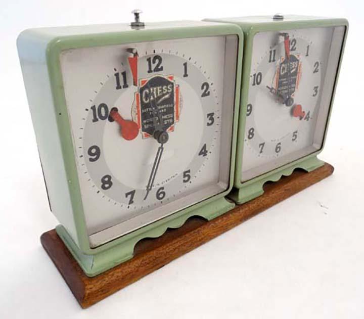 Antique Sutton Coldfield Chess Clock