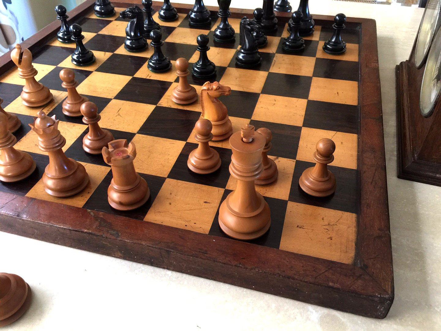 Antique British Chess Company Staunton Chessmen
