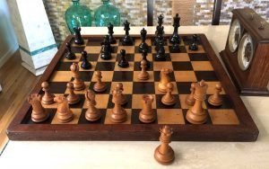 Reproduction British Chess Company Chessmen
