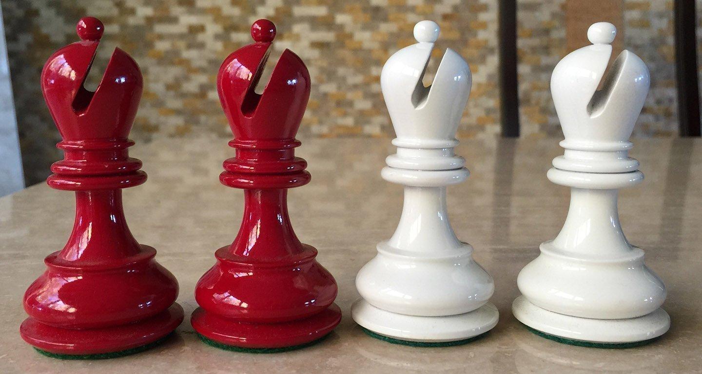 British Chess Company Ivory Staunton Chessmen