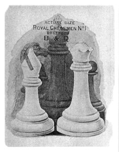 British Chess Company Royal Staunton Chessmen