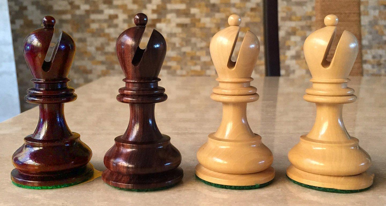 British Chess Company Bois de Rose Chessmen