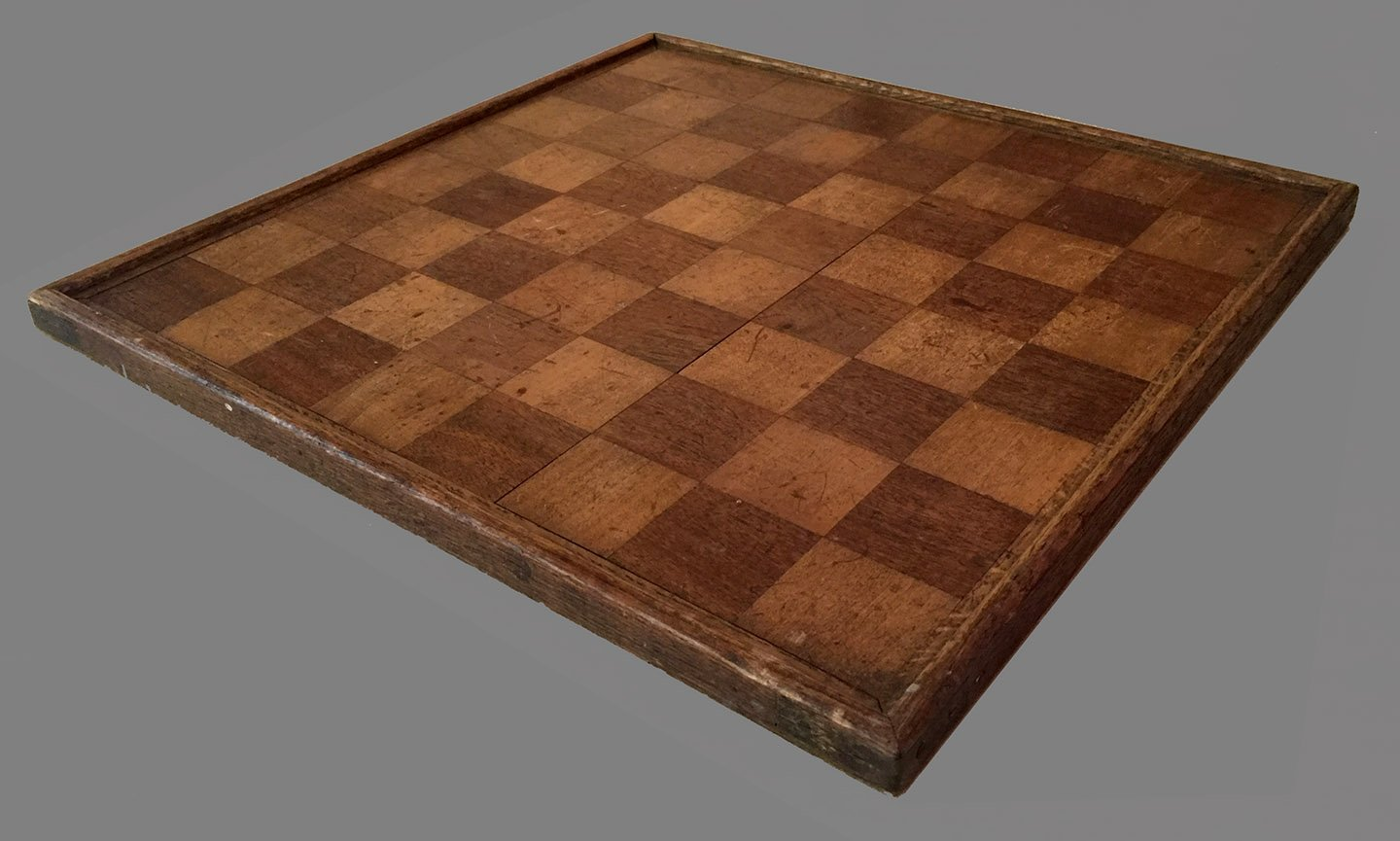 Antique Two Sided Chessboard