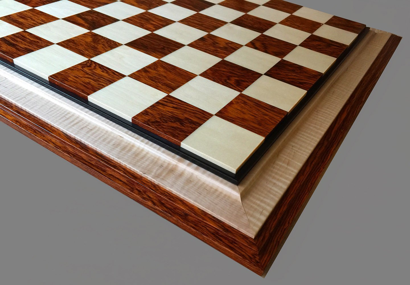 Holly and Cocobolo Signature Chessboard