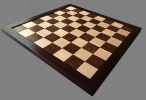 Reproduction Antique Rosewood Chessboard
