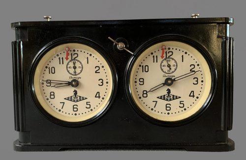 Vintage Bakelite Yantar Soviet Chess Clock