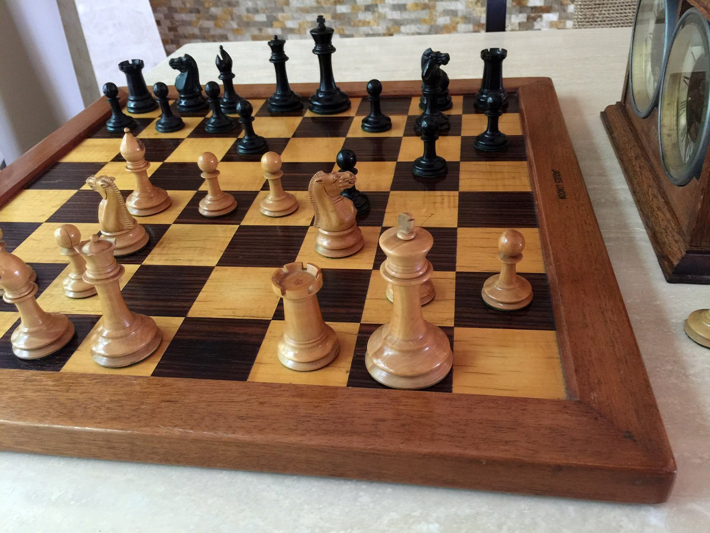Jaques Zukertort Chessmen, Tournament Size