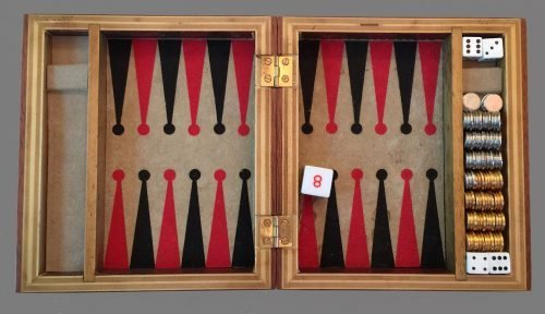 Magnetic Backgammon Travel Set