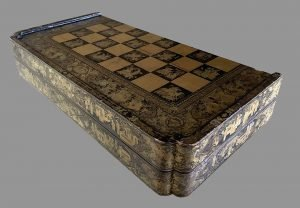 Antique Cantonese Folding Chessboard