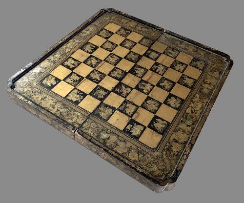 Antique Cantonese Folding Chessboard