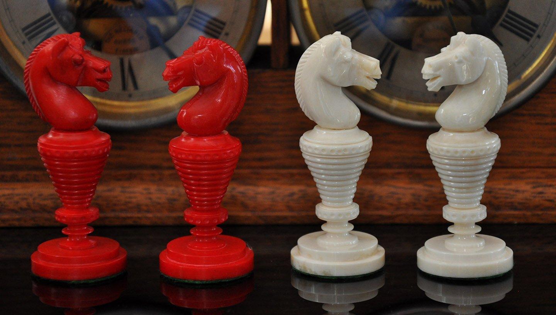 Anglo-Dutch Reproduction Bone Chessmen