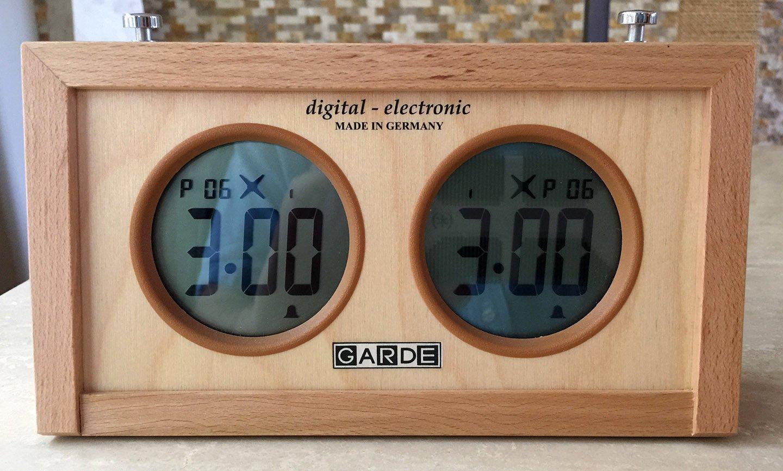 Garde Digital Electronic Chess Clock