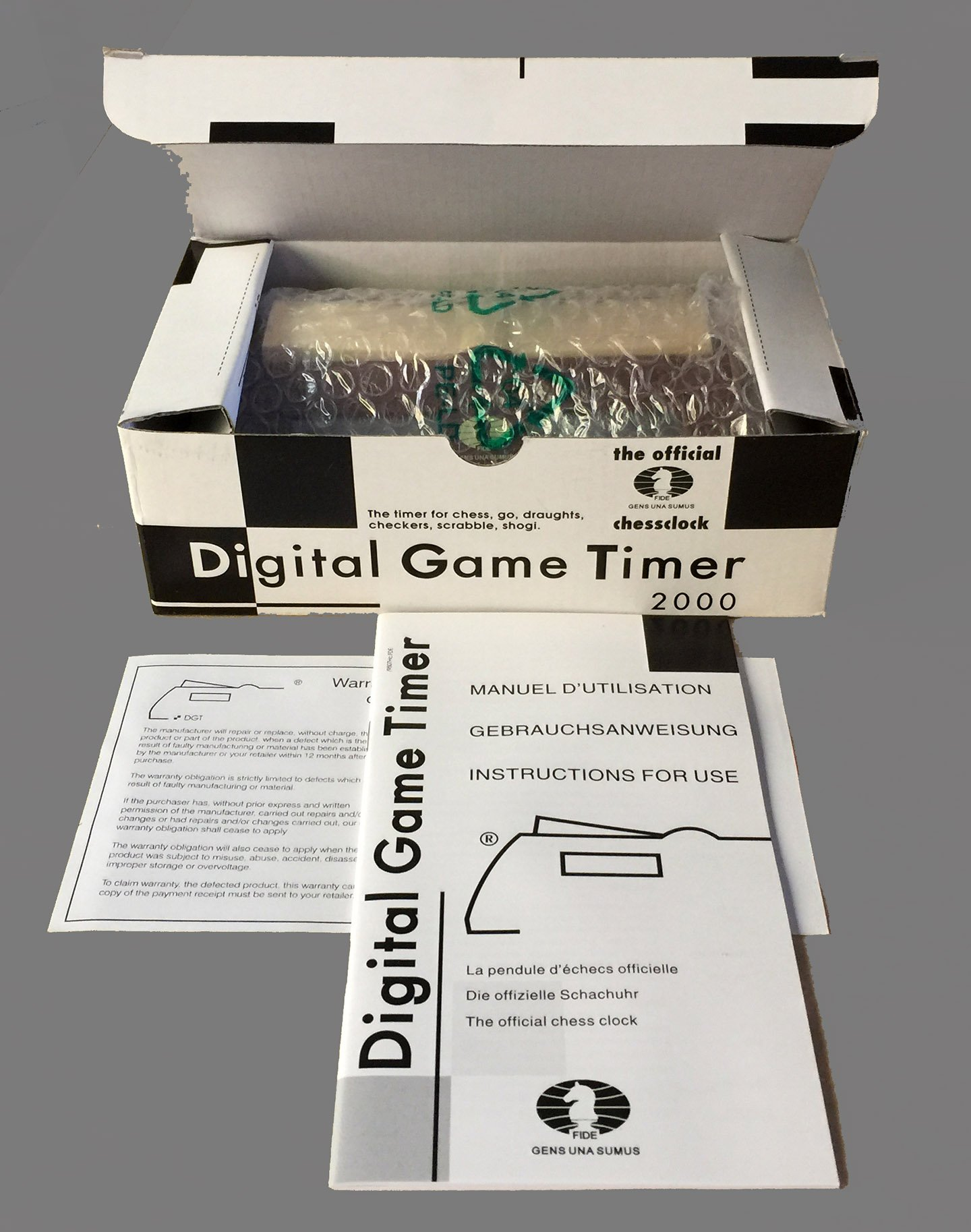 DGT 2000 Match Chess Clock