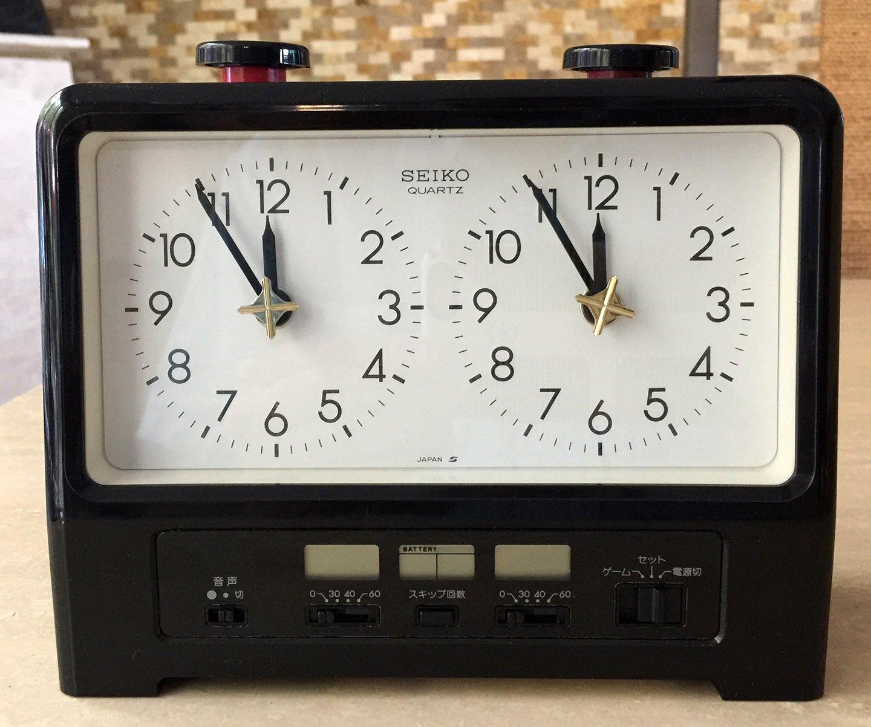 Seiko Analog Quartz Chess Clock