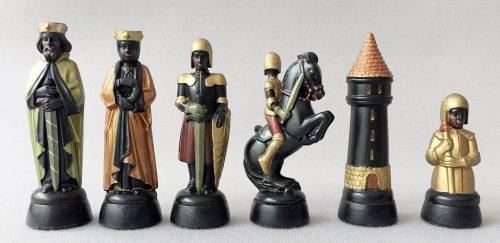 Anri Charlemagne Gold Chessmen