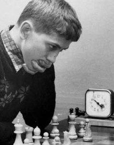 Bobby Fischer in 1957