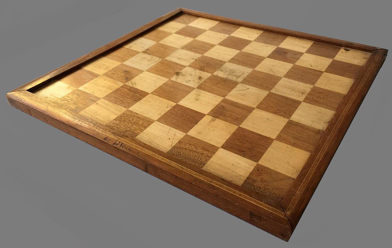 Antique Tournament Chessboard