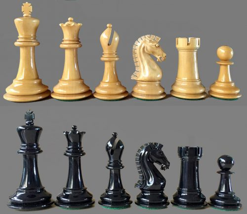 Golden Castle Craftsman Chessmen