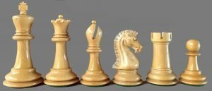 Golden Castle Craftsman Chessmen Reproduction