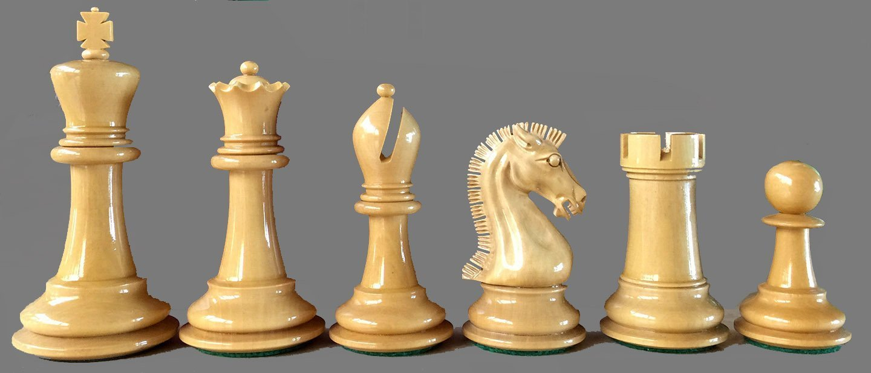 Golden Castle Craftsman Chessmen Reproduction