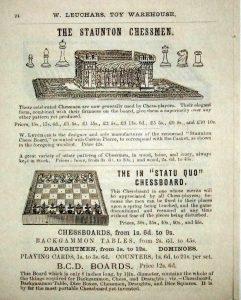 Carton Pierre Chessboard