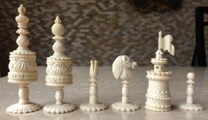 Type II Decorative Barleycorn Chessmen