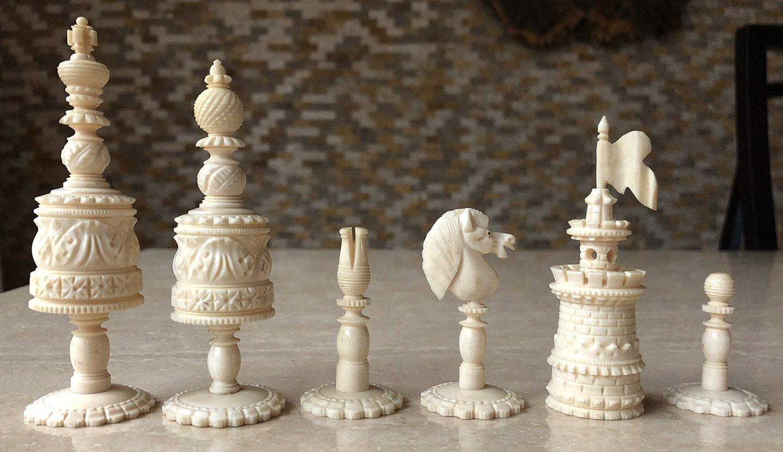 Type I Decorative Barleycorn Chessmen