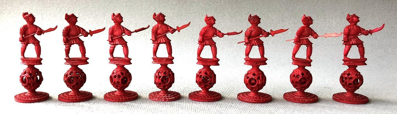 King George III Puzzleball Chess Set