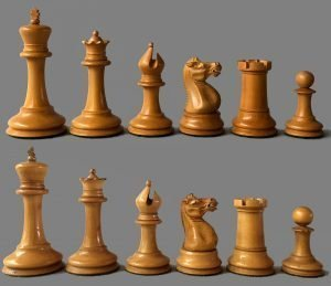 Reproduction Jaques Anderssen Chessmen