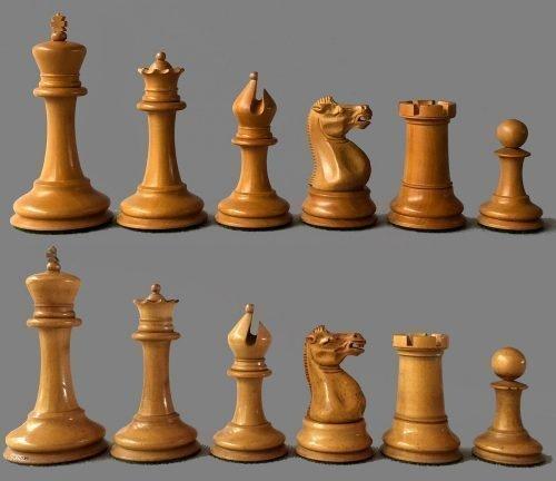 Reproduction Anderssen Style Staunton Chessmen