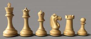 Challenger Series Staunton Chessmen