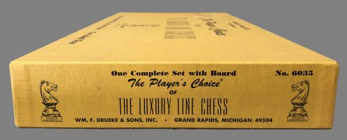 Drueke Players Choice Chess Set