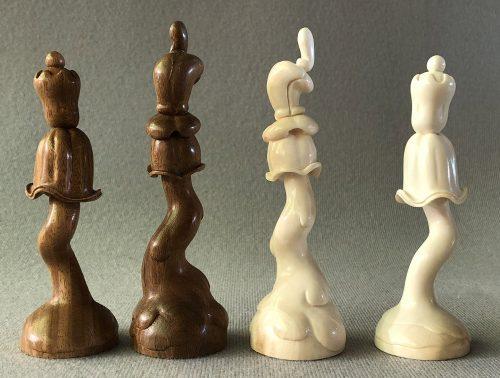 Mammoth Flower Chessmen.